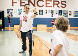 MotoCMS Customer Interview: Ievgenii Maksymov, Fencing Coach