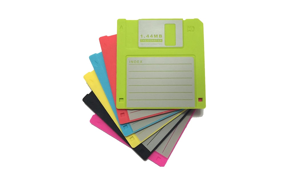 Amazon best sellers - Floppy disk coasters