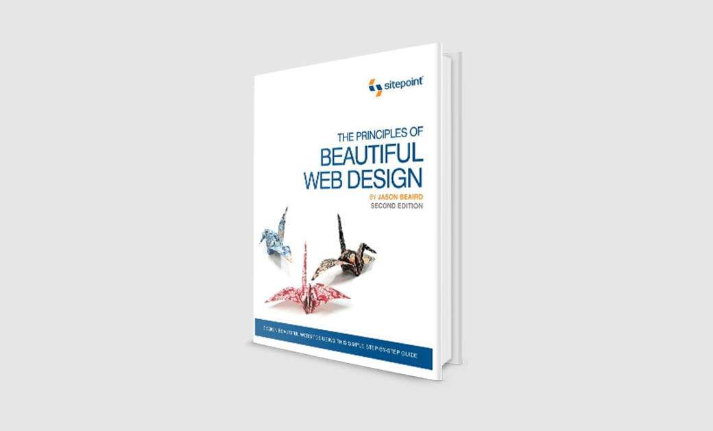Amazon best sellers - the principles of beautiful web design