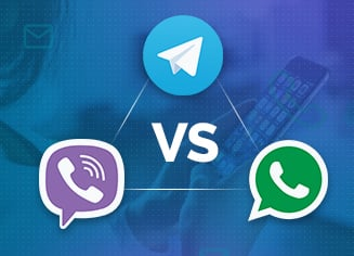3 Best Messenger Apps: Telegram vs. Viber vs. WhatsApp [Free Infographic]