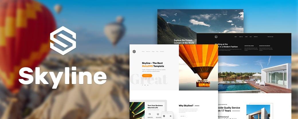 Homepage erstellen mit MotoCMS