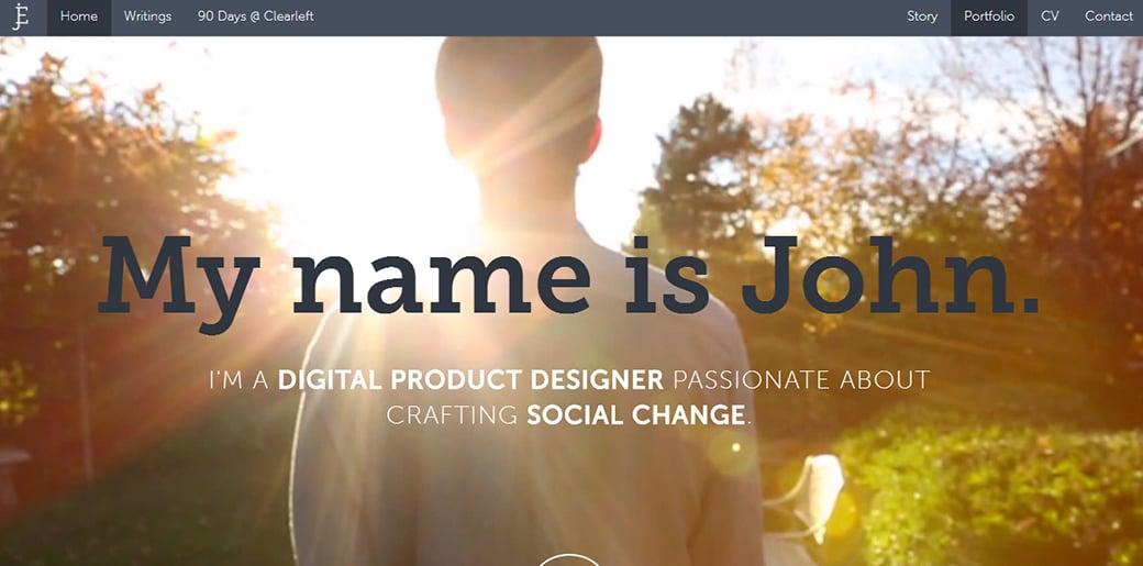 UX Designer Portfolio - John Ellison