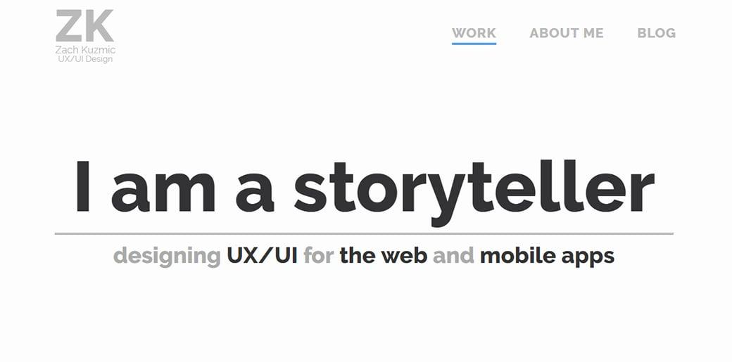 UX Designer Portfolio - Zach Kuzmic