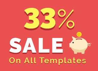Summertime Saleness - Build Any Website Easily with 33% OFF Template Sale