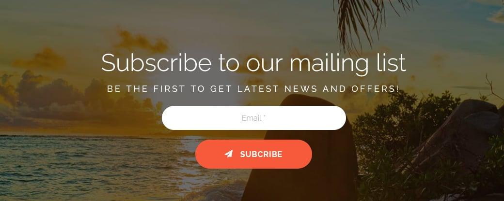 Newsletter-Formular integrieren