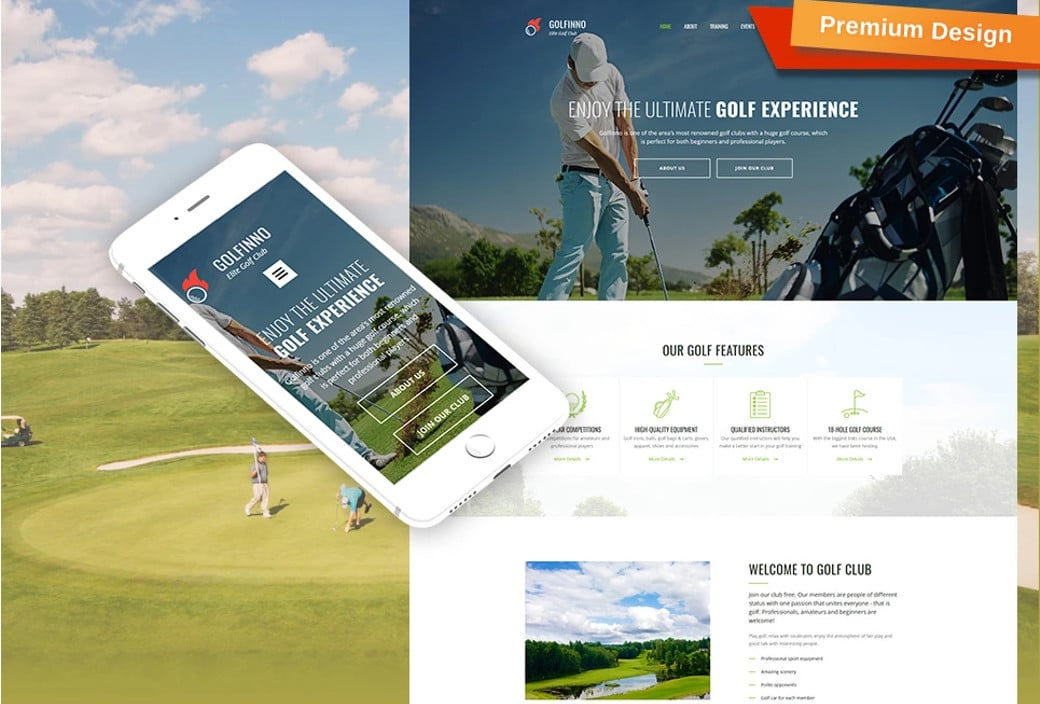golf club template