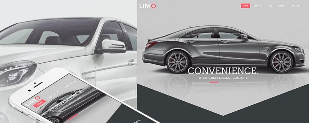 Limo responsive car template