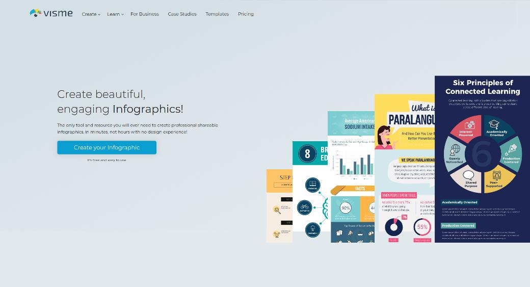 Visme Infographic Maker Tool