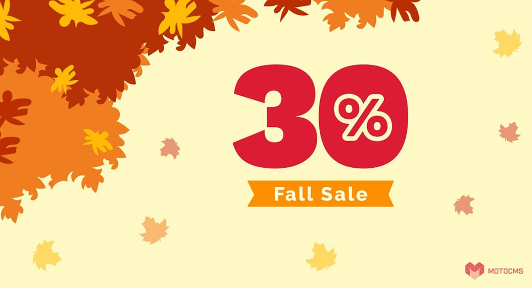 motocms fall sale featured image