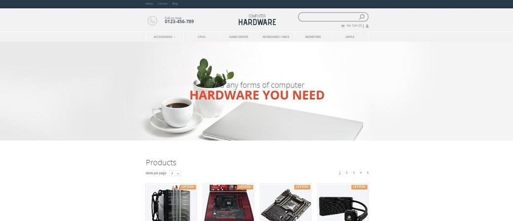компьютерный интернет-магазин