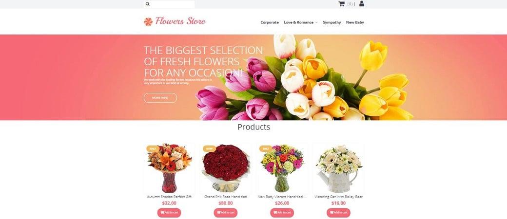 цветочный интернет-магазин