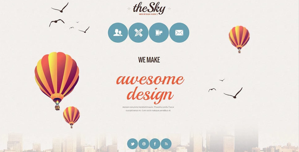 Web Design Agency MotoCMS 3.0 Template</