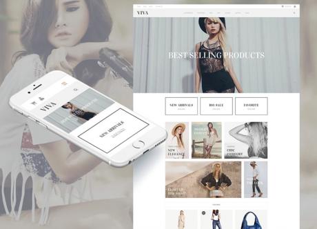 Адаптивные шаблоны для интернет-магазина: 10 лучших дизайнов