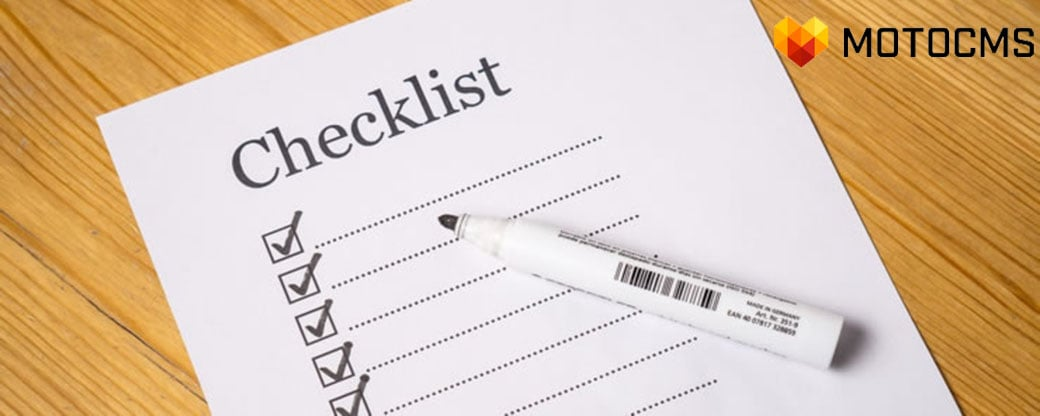 free digital marketing checklist