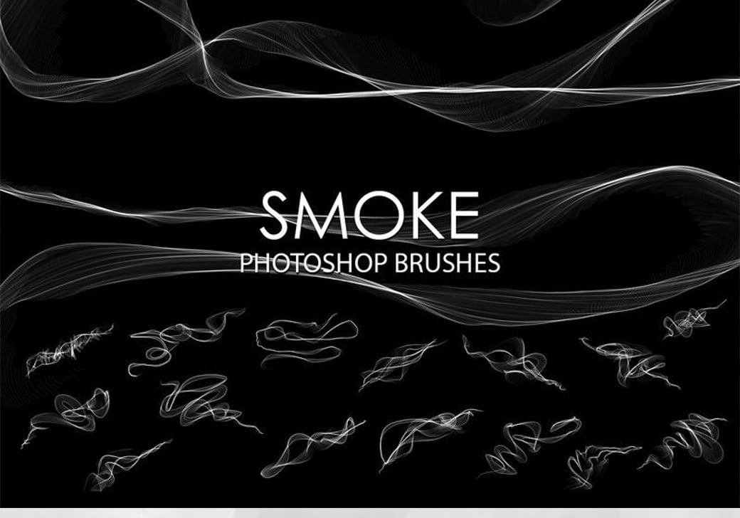 smoke photoshop