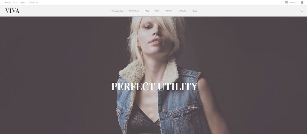 шаблоны для интернет-магазина одежды