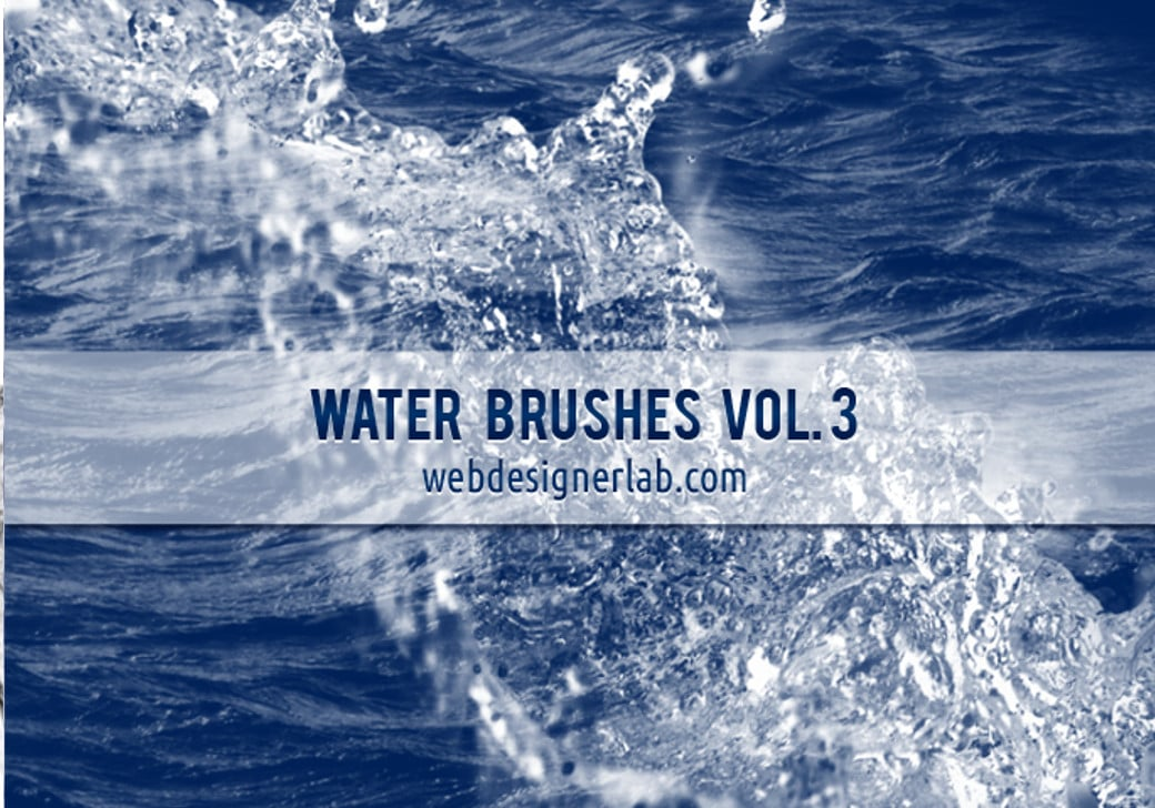 adobe-photoshop-free water brushes