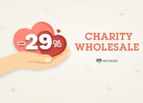 Благотворительная акция MotoCMS: давайте делать добро вместе!