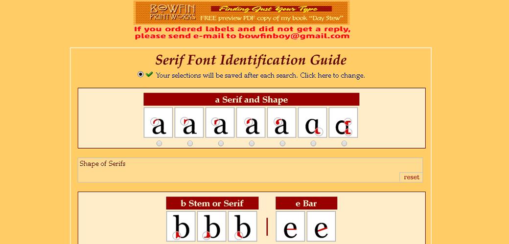 поиск шрифта по картинке Bowfin Printworks
