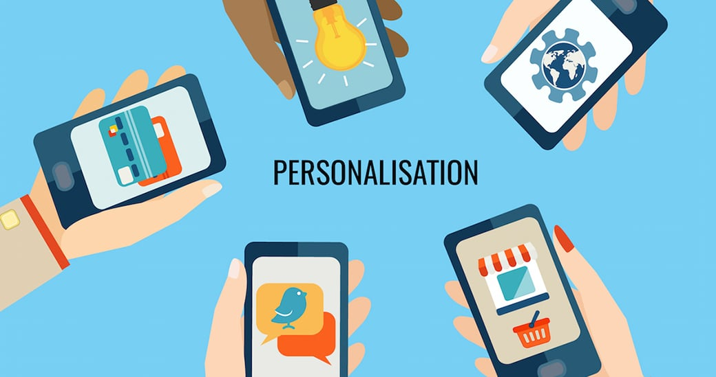 Personalisation of mobile apps