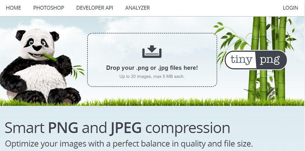 TinyPNG / TinyJPEG free online image optimizer