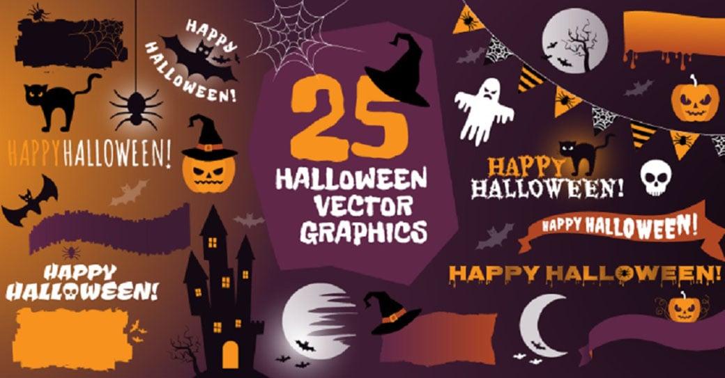 Halloween Graphics Pack