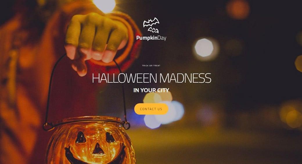 Как создать сайт о Хэллоуине