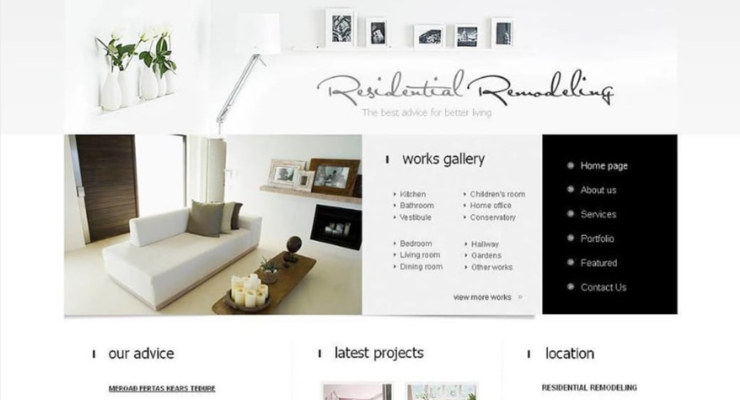 How to make an interior website for your design agency - Interior design discount websites ...