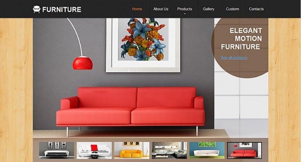 how to make an interior website for your design agency. Black Bedroom Furniture Sets. Home Design Ideas