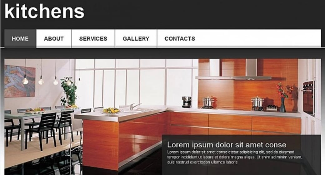 Kitchen Website Design Interior How To Make An Interior Website For Your Design Agency