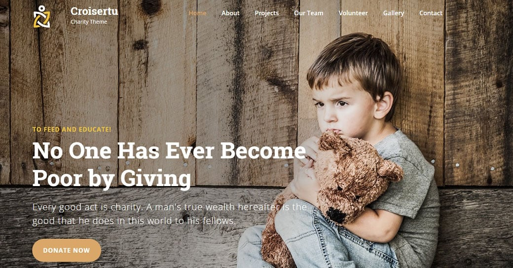 Croisertu Responsive Homepage-Vorlage
