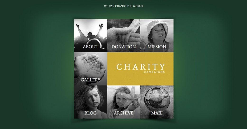 Non Profit Charities Website Design