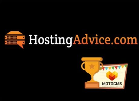 MotoCMS Has Been Reviewed by HostingAdvice: New Win