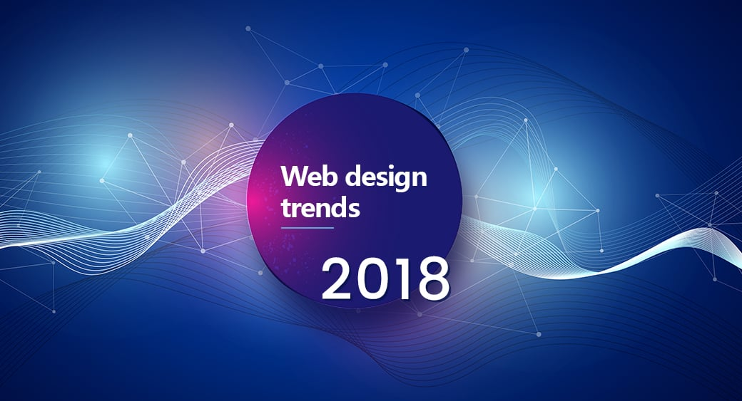 web design trends 2018 main image