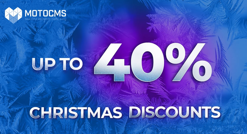 MotoCMS Christmas Sale main image