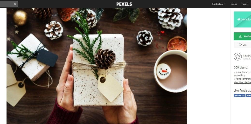 Kostenlose Weihnachtsbilder on pexels