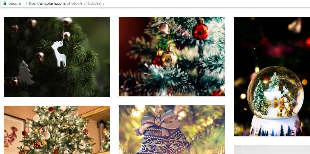 Kostenlose Weihnachtsbilder on unsplash