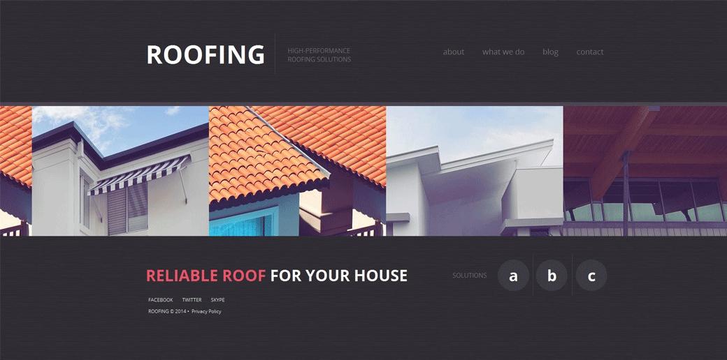 Roofing WebTemplate