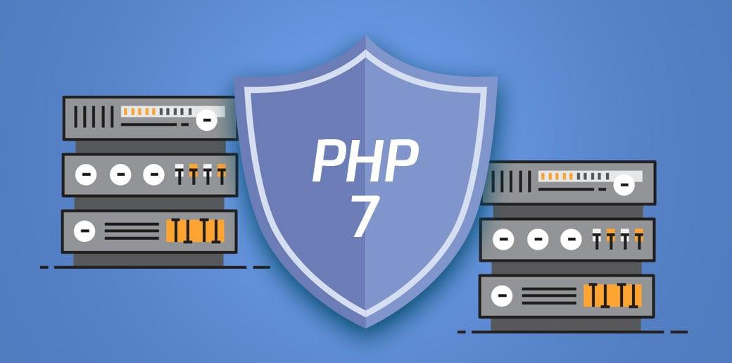 PHP 7 web development trend 2018 image
