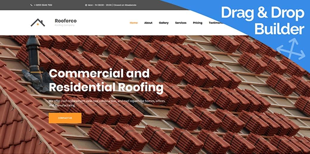 Rooferco Premium Roofing Template