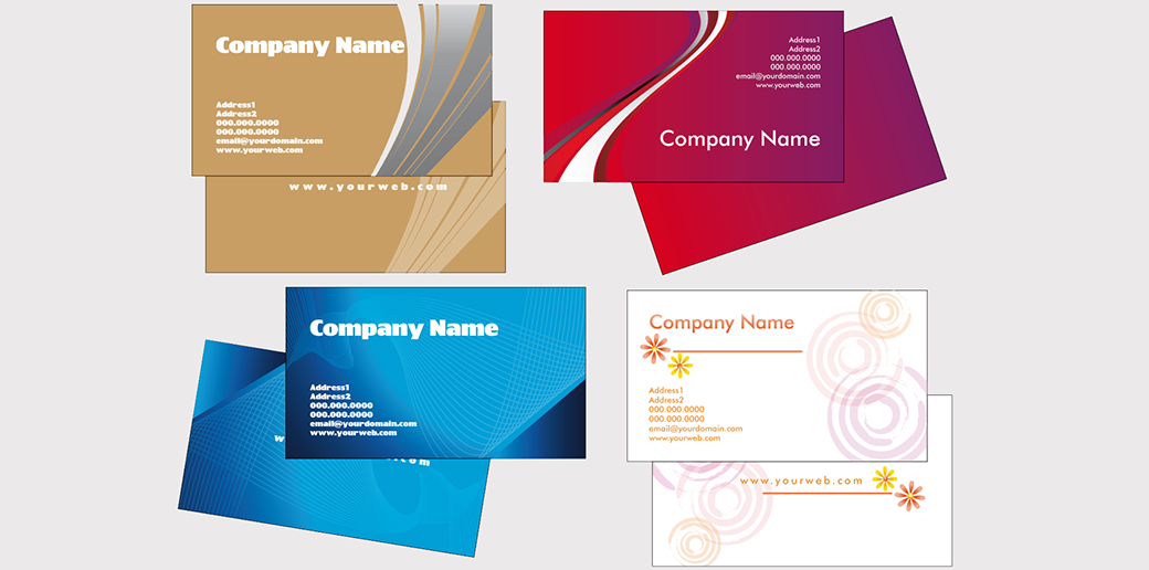 business card design vector readability image