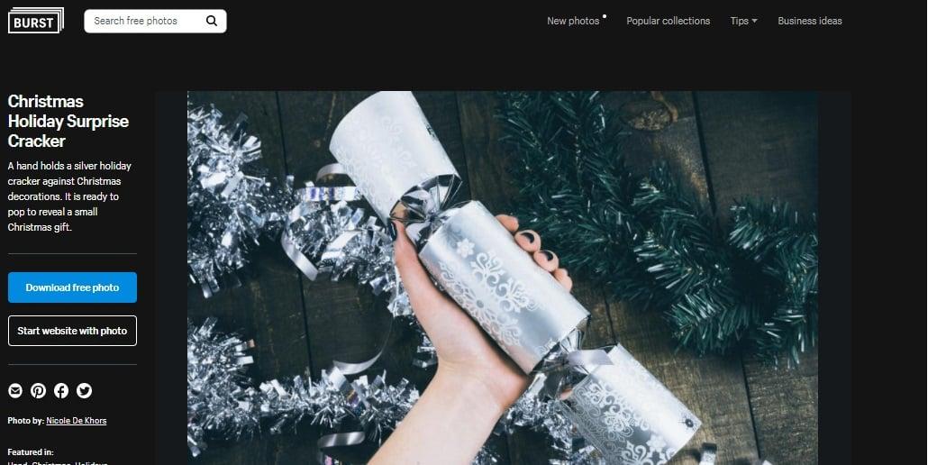 burst shopify weichnachtsbilder