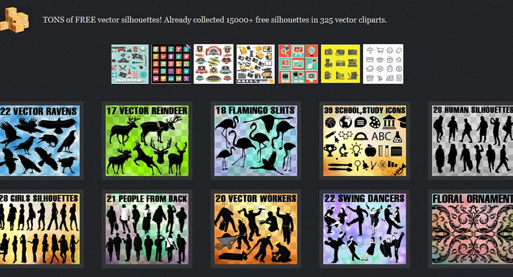 Векторные картинки All-Silhouettes.com