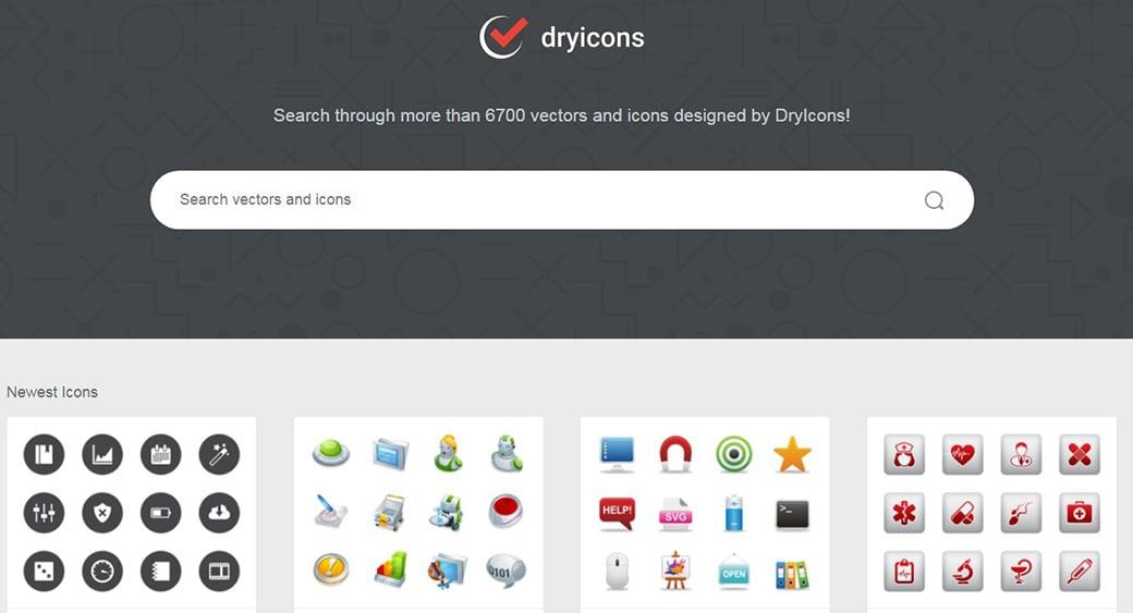 Бесплатные векторные изображения DryIcons