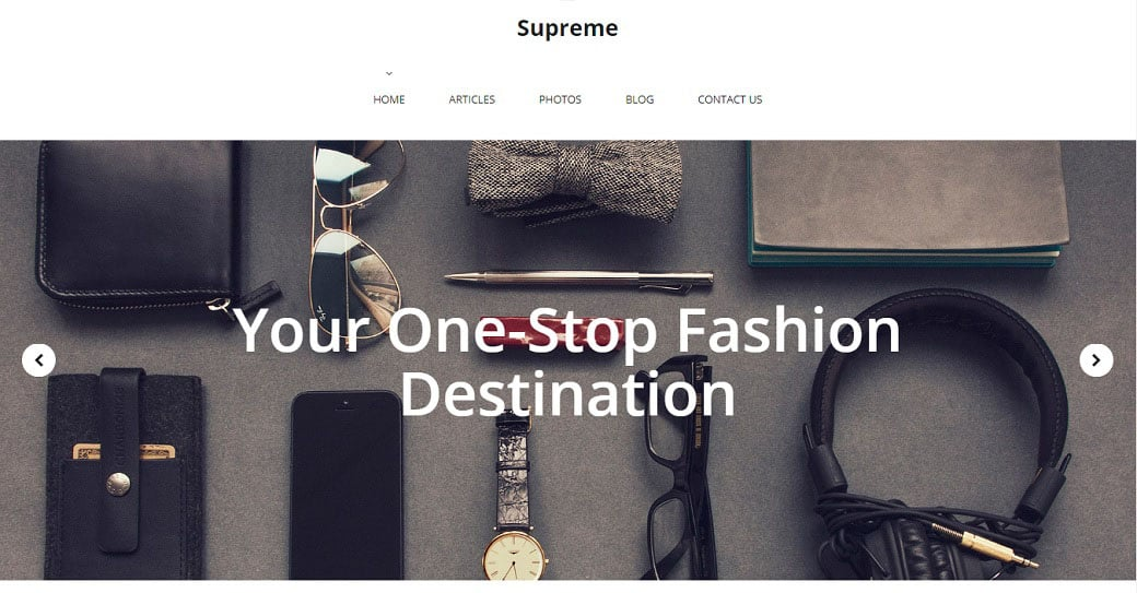 Fashion Online Lookbook Template