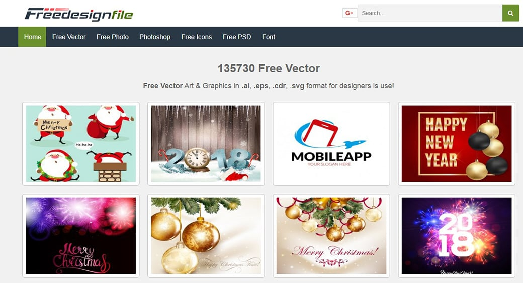 Векторные картинки Freedesignfile сайт
