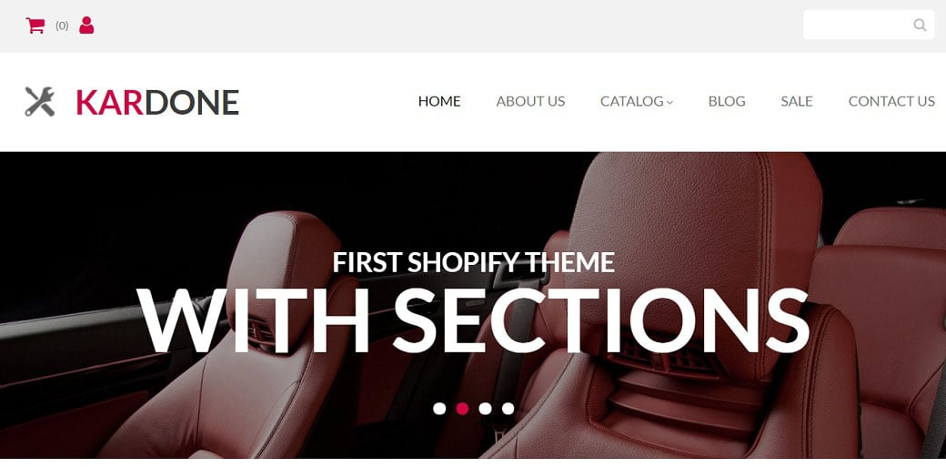 Kar Done Ecommerce Website Template