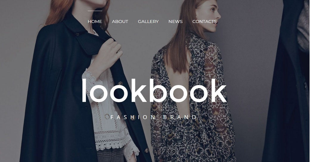 Lookbook Online Template