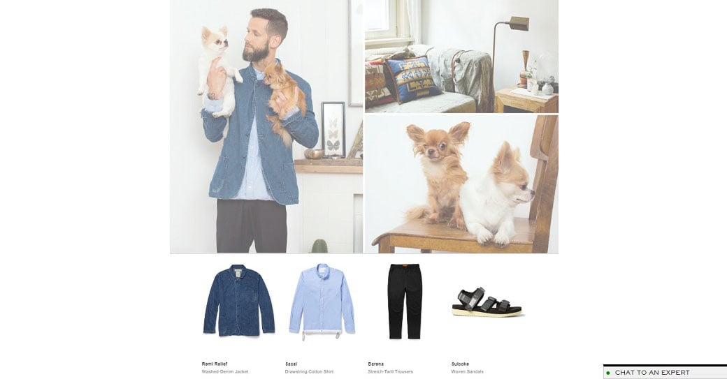 Mr. Porter Online Lookbook