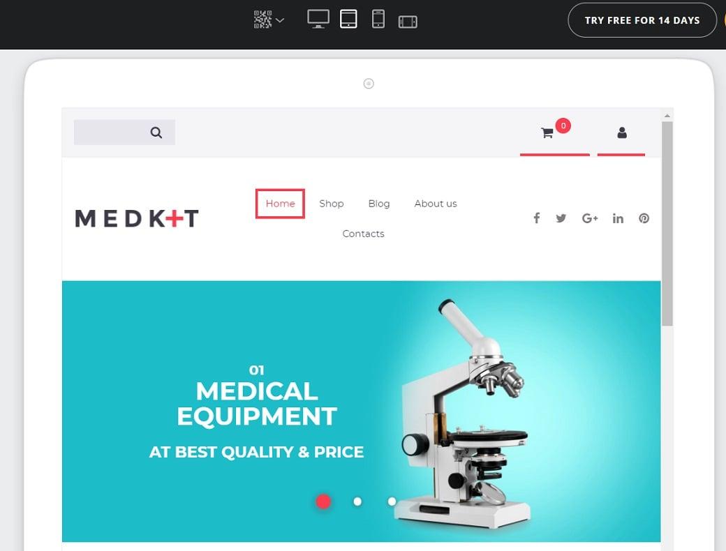 ecommerce checklist responsive design image